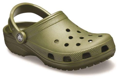 Crocs Classic Unisex Beach Army Green